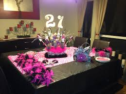 21st birthday party table setup party planning entertaining