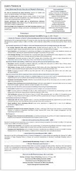 Sample Resume Chief Operating Officer Executive Resume Writer