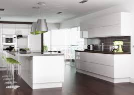 Contemporary Kitchen Accessories Uk On Kitchen Design Ideas With - White contemporary kitchen
