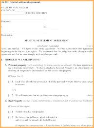 Free Prenuptial Agreement Template Sample Examples Of