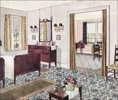 Photo 11 Of 11 1924 Blabon Bedroom   1920s Bedroom Design Inspiration    Neutral Color Scheme | 1920s | Pinterest