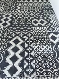 Black And White Pattern Tile Beauteous Ikat Cement Tile Patterns Villa Lagoon Tile