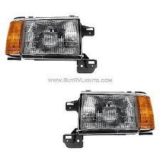 windsor 2002 2003 2004 pair front head lights lamps windsor 1995 1996 headlights head lights front lamps signal rv pair