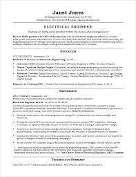 Senior Electrical Engineer Sample Resume Fascinating Sample Of Resume For Electrical Engineer Orlandomovingco