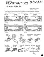 kenwood kdc x manuals kenwood kdc x559 sercie manual