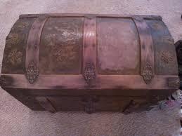 Restoring Antique Leather Antique Trunk Restoration Antique Trunks And Chests