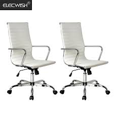 conference room chairs with casters. Elecwish, 2PCS Adjustable Office Executive Chair, High Back Tall Ribbed, Pu Leather, Wheels Arm Rest Computer, Chrome Base, Home Furniture, Conference Room Chairs With Casters .