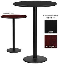 appealing bar top tables on 72 6 foot rectangle riser for banquet