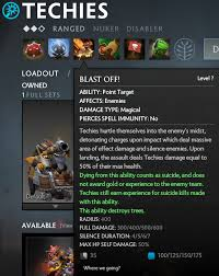 techies the new silencer in dota 2 future game releases
