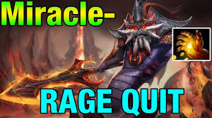 miracle slardar with midas rape rage quits dota 2 youtube