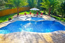 Inground Pool and Spa Combination Jacksonville Pool Builder