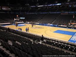 Chesapeake Arena 3d Seating Chart Chesapeake Energy Arena Section 104 Oklahoma City Thunder