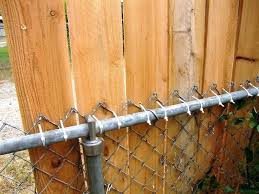 chain link fence covering ideas privacy home regarding designs 10