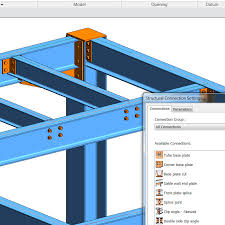 Structural Steel Connections In Revit 2017 And Advance Steel