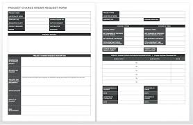 Change Request Template Change Request Template Put Your Project ...