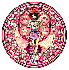 Small Picture Kingdom Hearts Coloring Pages Stained Glass