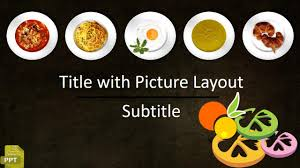 Food Presentation Template Get Free Powerpoint Templates Food Fast Presentation Ppt