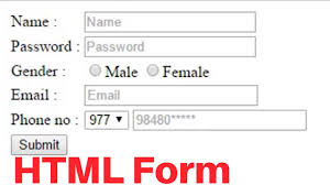 Sample Html Form Design How To Create Registration Form In Html Easy Step