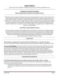 Rf Test Engineer Sample Resume Inspiration Rf Systems Engineer Resume RF Engineer