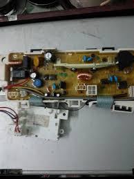 Sửa máy giặt toshiba mô tơ liền trục báo lỗi e2
