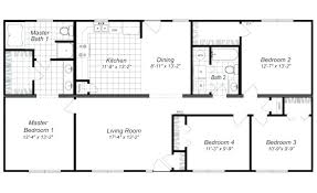 awesome free 4 bedroom house plans and designs 25 bath open floor
