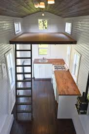 Hefty  Sq Ft Little House Doesnt Feel Tiny At All Floating - Tiny house on wheels interior