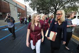 florida massacre survivors demand gun tallahassee florida survivors of school massacre demand gun reforms