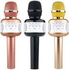 3nh E106 Wireless Microphone Portable Mikrofon with Disco Ball Bluetooth  Speaker Mini HomeMusic Player for Phone: Federation, Black: Amazon.in:  Electronics