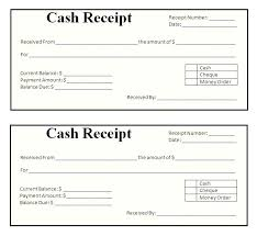 Cash Receipt Template Impressive Printable Cash Receipt Template 48 Word Of Consultant Invoice Simple