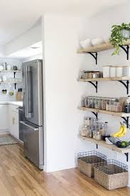 i like this shelving for just outside the kitchen Jackie