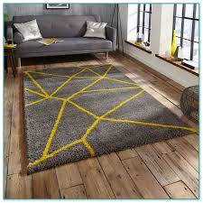 Royal Nomadic Yellow Shaggy Rugs Uk