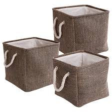 Decorative Fabric Storage Boxes Simple Interior with Square Fabric Storage Bins Target and Set of 10