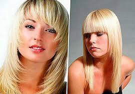Srážky S Rány Pro Krátké Střední A Dlouhé Vlasy Foto Srážky