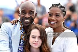 Yolonda Ross, Amber Havard and Rob Morgan attend the photocall for ...