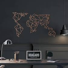 hoagard metal world map impressive design world map metal wall art luxury metal wall art world