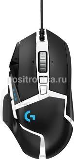 Купить <b>Мышь Logitech G502 SE</b> HERO черный/белый (910-005729)