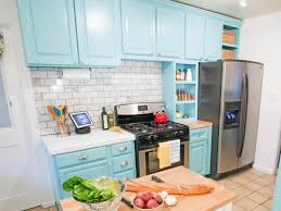 Colorful Kitchen Cabinets Kitchen Cabinet Paint Pictures Ideas Tips From Hgtv Hgtv