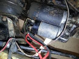 starter motor wiring classic ford forum attached image s