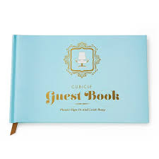 Office Guest Book Cubicle Guest Book Office Work Journal Uncommongoods