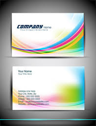 Card Design Template Business Card Design Corel Draw A S Free Vector Download