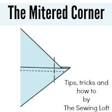 Best 25+ Mitered corners ideas on Pinterest | Sewing mitered ... & How to make Mitered Corners Adamdwight.com