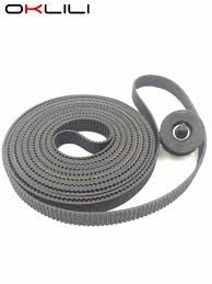 """10PC* C7770 60014 Carriage <b>Belt 42</b>"""" B0 Size + Pulley <b>for HP</b> ..."""