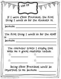 if i were president clipart  grade class president speech clipart