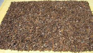 leather rug for eco friendly rugs idea