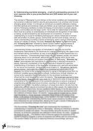 hsc essay belonging hsc essay