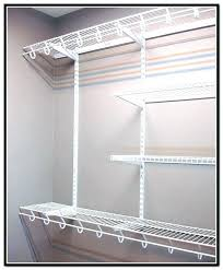 how to install closetmaid wire shelving parts wire shelving parts wire shelving closet home depot wire shelves closet wire shelving installation installing
