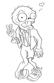 This zombie coloring page gives an insight to what possibly could start the apocalypse. Free Printable Zombies Coloring Pages For Kids