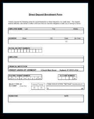 Direct Deposit Credit Union Of Vermont