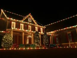 Christmas home lighting House Cape Cod Patch Are Colored Holiday Lights Banned On Main Street Hingham Ma Patch