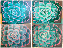 succulent paintings
